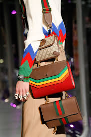 gucci bags 2017. gucci fall 2017 ready-to-wear fashion show details bags