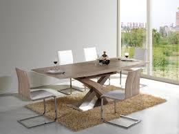 Esstisch Raul Holz Tischplatte Ausziehbar Esszimmer Küche Luxus