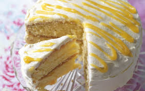 Lemon Curd Cake Baking Recipes Goodtoknow