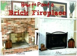 update stone fireplace how to update a fireplace updated brick fireplaces image of how to update