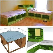 diy storage bed. DIY Corner Unit For The Twin Storage Bed - Space Saving Idea Diy
