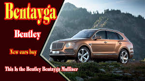 2018 bentley bentayga mulliner. unique mulliner 2018 bentley bentayga  mulliner  black edition with