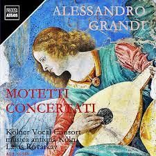 Alessandro Grandi Motetten musica antiqua köln / kölner vocal consort   eBay