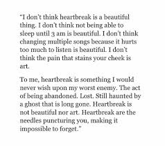 Beautiful Heartbreak Quotes Best of 24 Best Poetry Words Images On Pinterest Thoughts My Life And