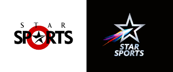 Logos With Stars Brand New New Logo And On Air Look For Star Sports By