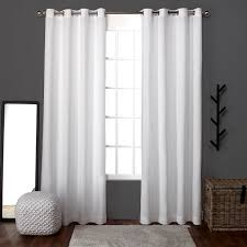 com exclusive home curtains loha linen window curtains home kitchen