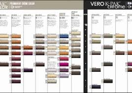 19 Rational Joico Vero K Pak Chrome Color Chart