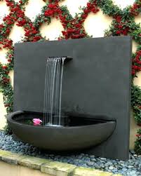 courtyard in contemporary outdoor 4 tier large wall ins water large outdoor wall mounted fountains outdoor