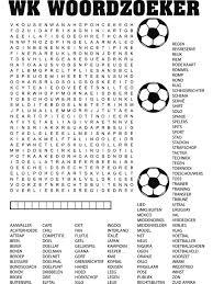 Wk Woordzoeker Puzzel 2