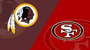 Nfl 49ers Depth Chart San Francisco 49ers At Washington Redskins Matchup Preview