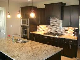 kitchen backsplash glass tile dark cabinets. Wonderful Cabinets Beautiful Charming Sink Faucet Kitchen Ideas For Dark Cabinets Ceramic Glass  Tile And Stone Subway With To Kitchen Backsplash Glass Tile Dark Cabinets I