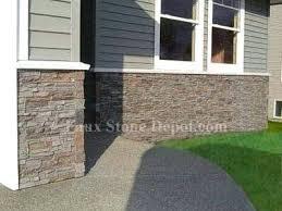 Faux Rock Panels Exterior Stone