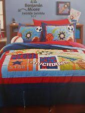 Circo Sports Bedding | eBay & Circo Score! Collection Sports Complete Full Quilt Set NIP Adamdwight.com