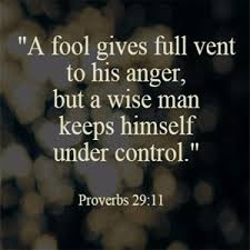 Image result for proverbs 29 11
