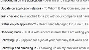Your Follow Up Emails To The Hiring Manager Wont Get You The Job Vice