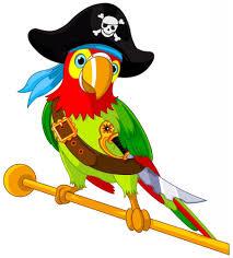 Pirate Parrot мультяшные персонажи пираты пиратский день