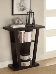 dark wood hall table. Coaster Console Table Dark Wood Hall