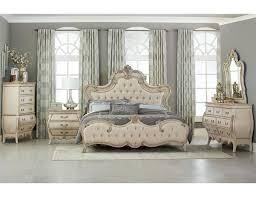 Elsmere Antique White Bedroom Furniture