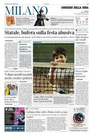 Calaméo - Corriere Della Sera Milano 5 Novembre 2019 By Pd S