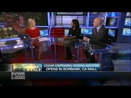 Beverly Hills Caviar Vending Machine Simple BEVERLY HILLS CAVIAR VENDING MACHINE REVIEW ON FOX NEWS YouTube
