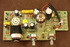 dan becker s power scaled vox ac4 amplifier build vox ac4 amp circuit board