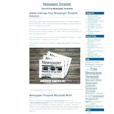 Microsoft Word Newspaper Template Newspaper Ad Template For Word Microsoft 2010