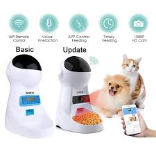 Iseebiz <b>3L Automatic Pet Feeder</b> With Voice Recorder
