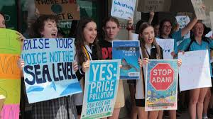 Port Macquarie Students Protest Lack Of Action On Climate Change On