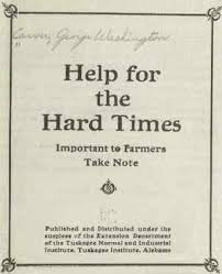 the best george washington carver education ideas  george washington carver help for the hard times pamphlet front cover