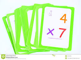 Flash Cards Stock Photo Image Of Math Child Childhood 34073048