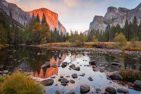 Sunset - Late Autumn in Yosemite - Vern Clevenger Photography