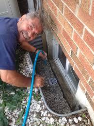 window well drainage. Drain Test Window Well New Forte Waterproofing Drainage G