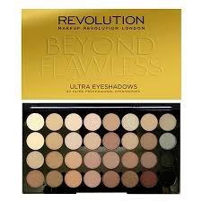 revolution ultra 32 shade eyeshadow palette beyond flawless revolutionbeauty