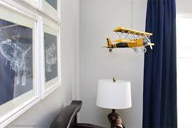 Boy Airplane Nursery Ideas