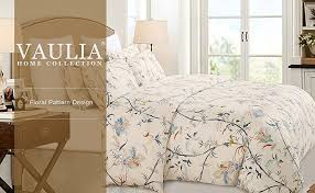 this duvet cover set is relatively simple a cream color base with minimalistic colors featured in the printed flowers it s perfect for those who like the