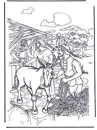 Ezel Voor Palmpasen Bijbel Kleurplaten Nieuwe Testament