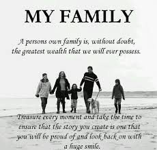 Beautiful Quotes About Family Love Best of I Am Truly A Lucky Woman To Have Such A BEAutiful Loving Healthy