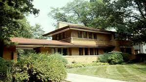 Robie House; Chicago, Illinois 1908 by Frank Lloyd Wright