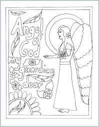 Coloring Pages On Prayer Glory Be Page Our Father Colouring Mommy
