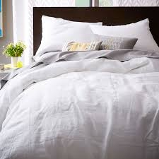 white and gray sheets