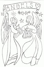 Small Picture Angel Coloring Pages Ppinewsco