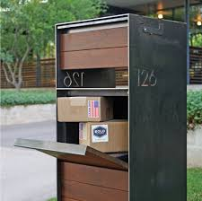 Modern Mailbox Designs Find A Modern Mailbox That Matches Your Home And Style