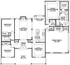 Open Floor Plans For Country Style Homes  AdhomeCountry Style Open Floor Plans