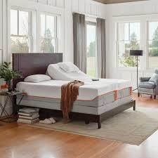 queen size split adjustable bed. Plain Queen TempurPedic TEMPURContour Supreme 115inch Split Queensize Ergo Premier And Queen Size Adjustable Bed U