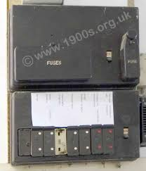 fuses blowing electrical equipment, pre 1950s britain uk fuse box types a fuse box, mid 20th century uk