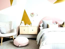 Pink White And Gold Bedroom A Shabby Chic Glam Girls Design Idea In ...