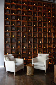 Spa AIRE SOHO NY What a nice idea to a waiting room, gives personality to  the space