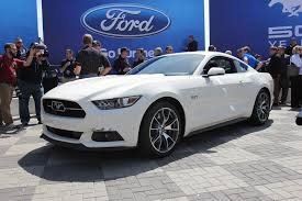 2015 ford mustang white. place your order now 2015 ford mustang fastback photo gallery white
