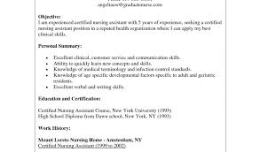 Medical Assistant Resume Objective Samples Resume 7 Certified
