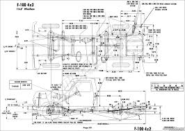 1976 ford body builder's layout book fordification net F350 Frame Diagram f100 4x2 (116 8\